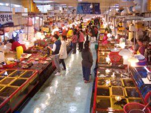 Mercato del  pesce-Busan.