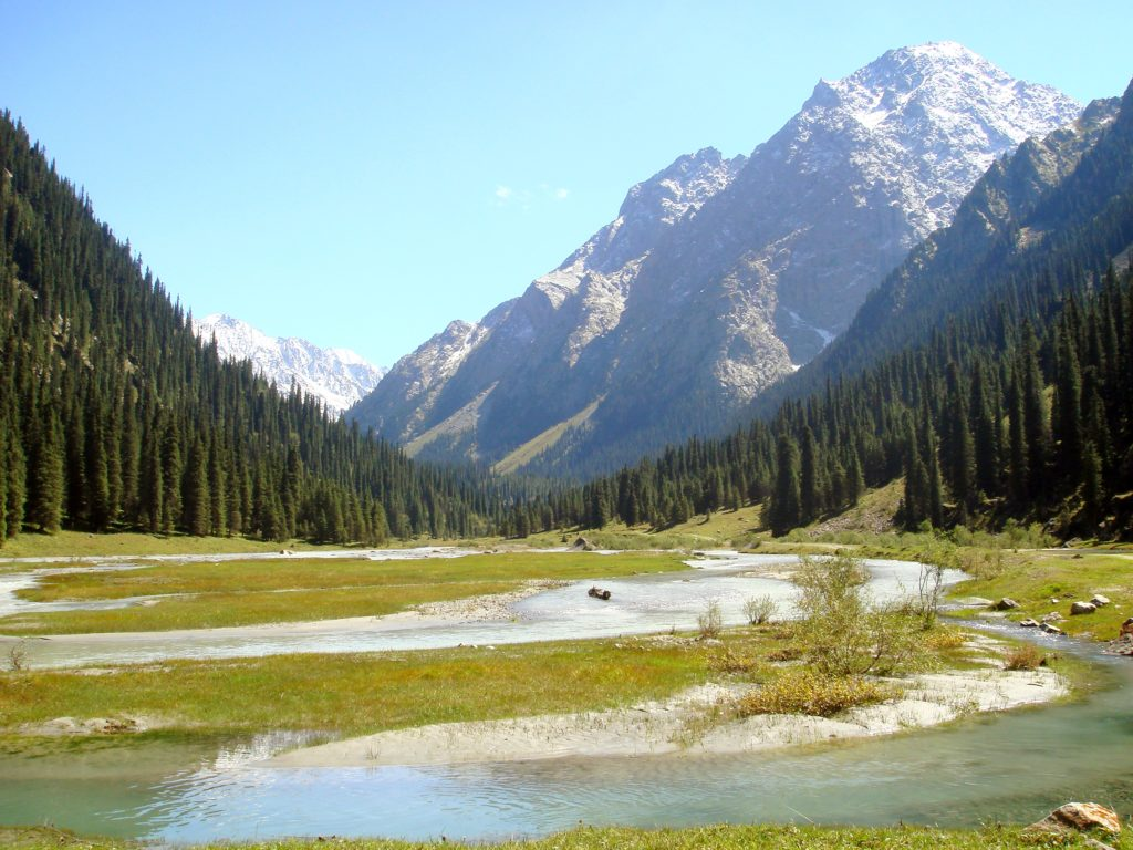 viaggio in altai lago teletskoe