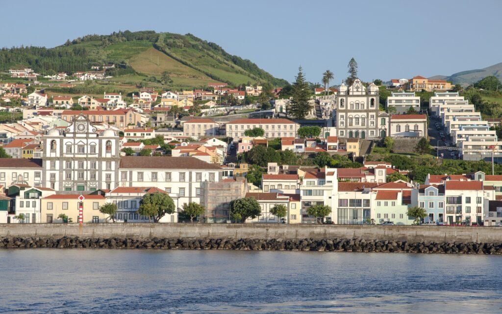 Vista sulla città di Horta