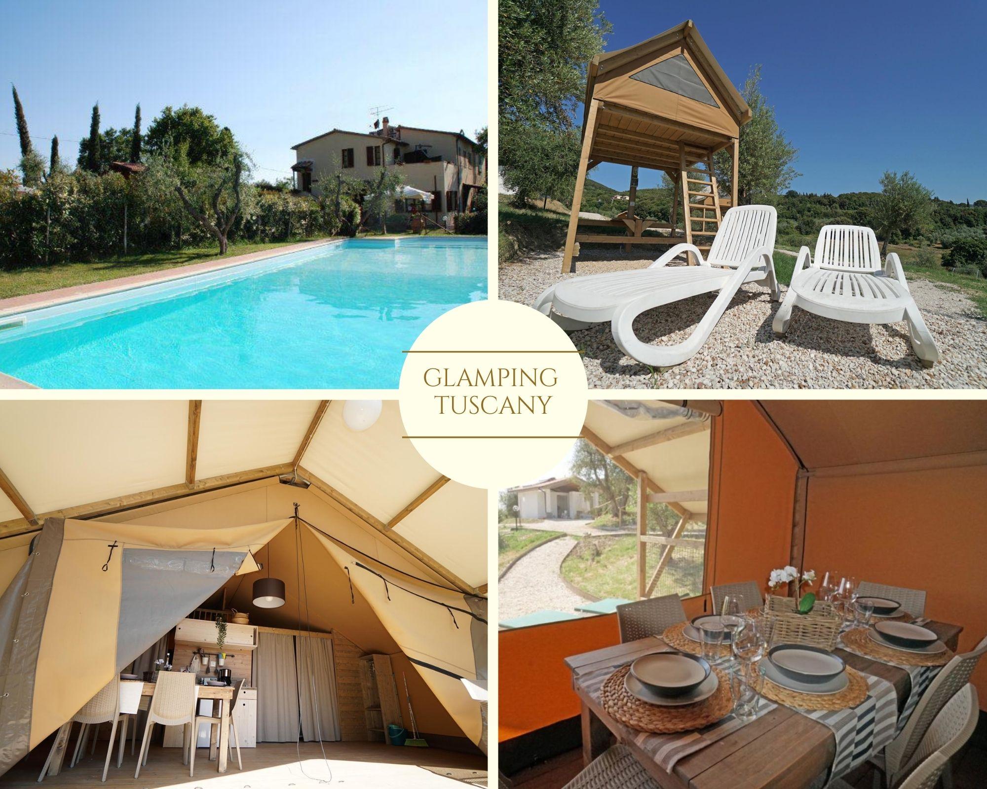 Glamping tuscany