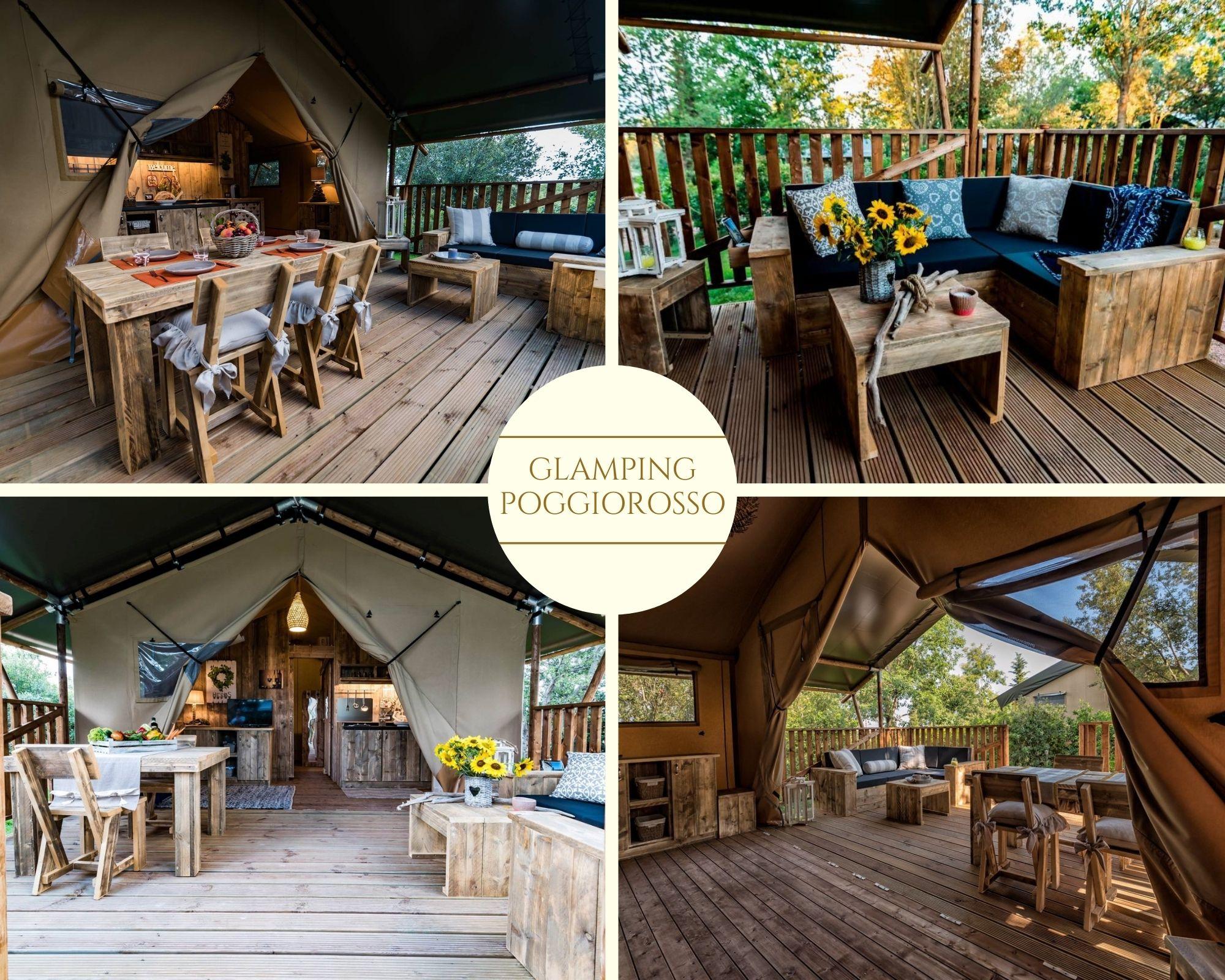 Eco-tenda Glamping Poggiorosso