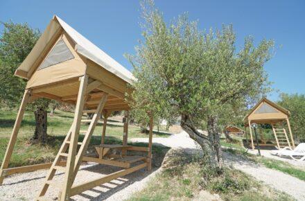 tenda rider glamping tuscany
