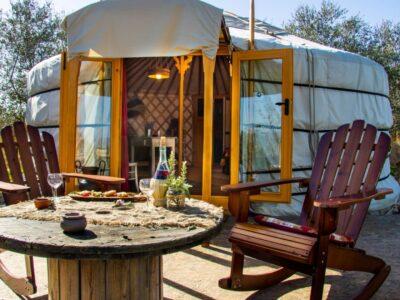 glamping Due cuori e una yurta