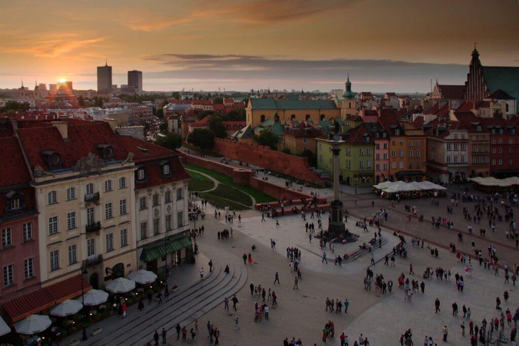 Varsavia capitale polacca